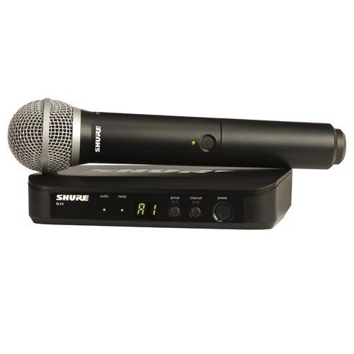 Shure BLX24E/PG58 micrófono inalámbrico profesional para voz, altavo