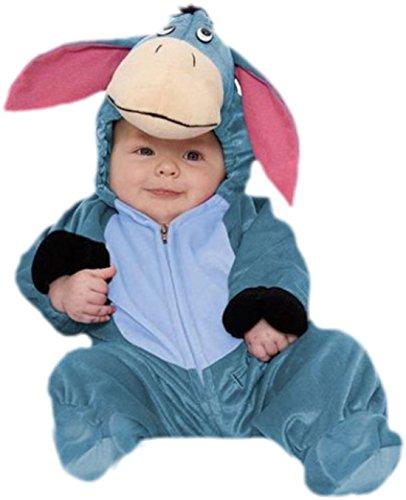 Ohren Winnie The Pooh (erdbeerloft - Baby - Jungen Süßes I-Ah Kostüm, Winnie Pooh, Disneykostüm, Fasching, Esel, S,)