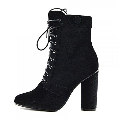 Kick Footwear Chelsea Boots, Stivali donna Black - Laces