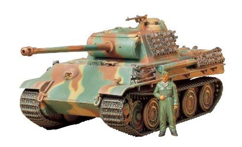 TAMIYA 300035174 - 1:35 WWII Sonderkraftfahrzeug 171 Panther G Stahllaufroll (1)