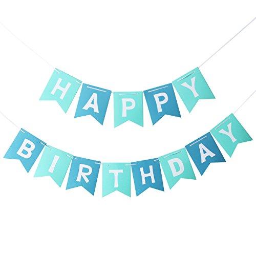 PIXNOR Happy Birthday Banner Party ()