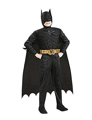 Batman Kinder Kostüm schwarz L (Kinder Catwoman-kostüm)