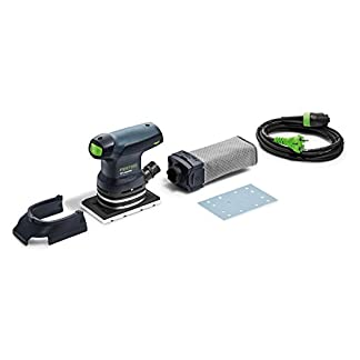 Festool RTS 400 REQ – Lijadora (Lijadora manual, Lijadora orbital, Bolsa para el polvo, 6000 RPM, 12000 RPM, 12000 OPM)