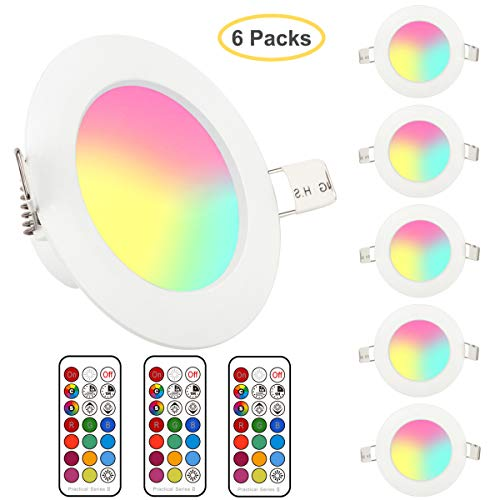 Foco LED RGB orientable
