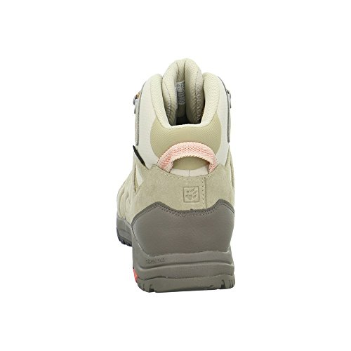Jack Wolfskin Chaussures de randonnée pour femme Beige