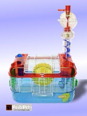 Hamsterkäfig Superpet CritterTrail Spielzeug behandeln Zone