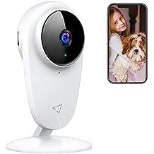 Telecamera WiFi Interno, Victure Baby Monitor, Telecamera IP per Bambini e per Animali Domestici, Telecamera Interna con Visione Notturna e rilevazione di movimento con Audio Bidirezionale