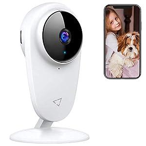 Victure 1080P Baby Monitor, Alexa Telecamera 2.4G Wi-Fi Interno Videocamera Babyphone per Bambini/Animali/Anziani… 41fbPIpCyBL. SS300