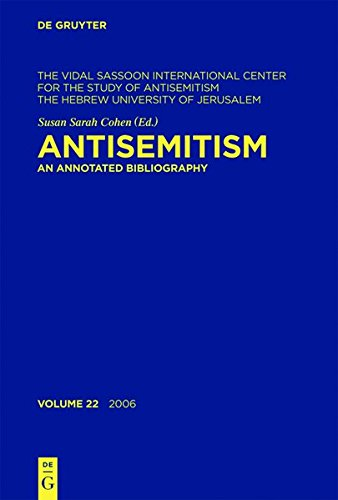 antisemitism-an-annotated-bibliography-2006-the-vidal-sassoon-international-center-for-the-study-of-