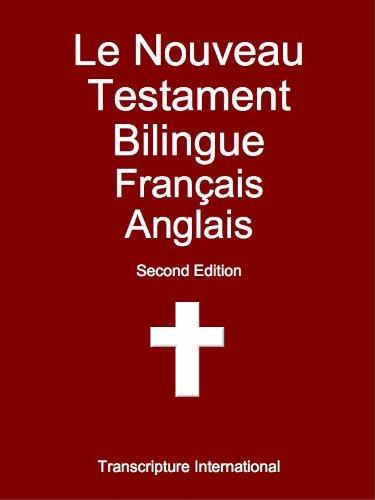 Le Nouveau Testament Bilingue Français Anglais