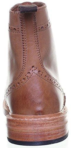 Reece Justin Dylan renforcées en cuir GoodYear mat pour chaussures Beige - Marron clair JL25