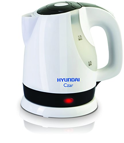 Hyundai Czar HKC10C3P-DBH Electric Kettle (White)