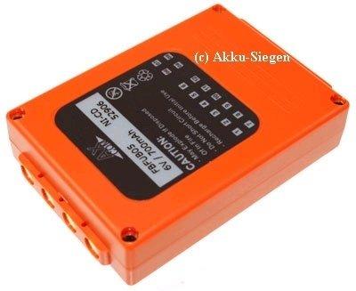 Batterie de rechange hBC fUB5AA fUB05AA fBFUB05 bA205030 de grue v 1,5 ah