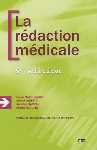 La rdaction mdicale - 5e dition