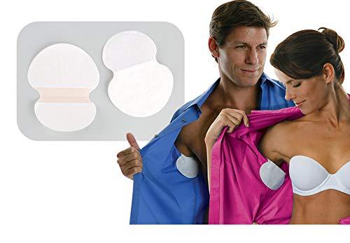 SHIJING 400 stücke Einweg Achselschweißpolster für Kleidung Anti Schweiß Deodorants Achselhöhle Saugfähige Pads Kleid Schild Aufkleber