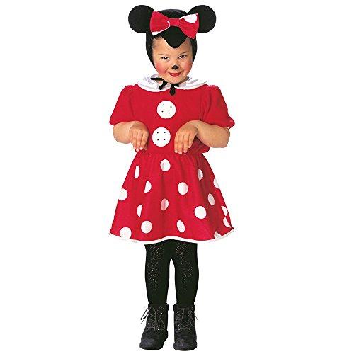 Costume vestito abito travestimento carnevale bambina topina-