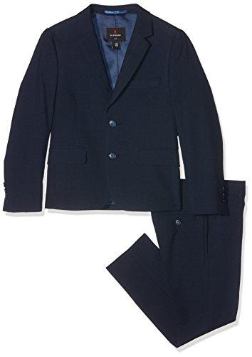 Lemmi Jungen Anzug Slim Line Mid, Blau (Total Eclipse 3000), 134
