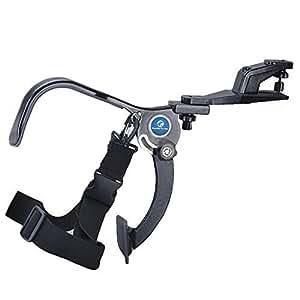 koolertron-stabilisateur Systeme Main Libre Support Épaule pour caméscope caméra DV Sony Canon Samsung Nikon Pentax Olympus Fuji etc