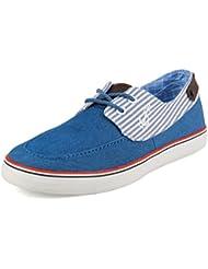 Zapatos Hombres Mocasines Outlet de Lona Adulto Estilo Fantasía Con Cordones Zosdon