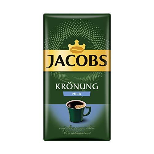 Jacobs Filterkaffee Krönung Mild, 12er Pack (12 x 500 g) gemahlener Kaffee