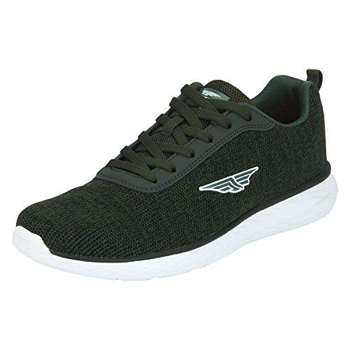 Red Tape Men's Green Running Shoes - 11 UK / India (45 EU)(RSC0456)