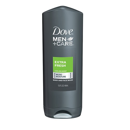 Dove Men + Care Body and Face Wash, Extra Fresh, 400ml