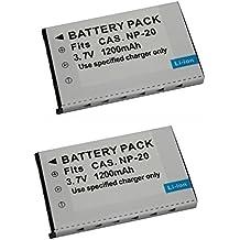 Bateria para Casio Exilim EX-Z33 Exilim EX-S8 Exilim EX-Z1 Exilim EX-H15 700mAh