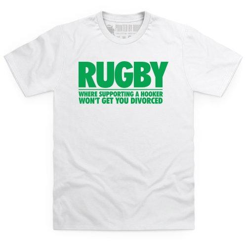 Hooker T-Shirt, Herren Wei