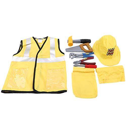 beiter-Kostüm Ingenieur-Kostüm, Requisiten-Sets, Arbeiter, Cosplay, Kleidung für Kostümparty, Bühne, Perforamnce ()