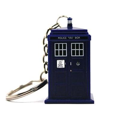 Doctor Who TARDIS Keychain Taschenlampe von Doctor Who auf Outdoor Shop