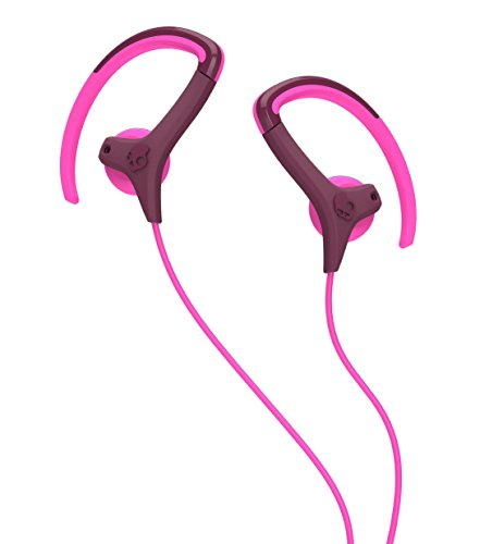 Skullcandy Chops Bud Hanger In-Ear Sport Kopfhörer mit Ohrbügel - Pflaume/Pink