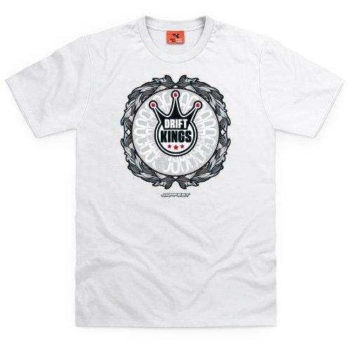 Drift Kings 2 - Light T-Shirt, Herren Weiß