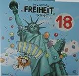 Archie's Musikkarte 18. GEBURTSTAG DIE GROSSE FREIHEIT BEGINNT......