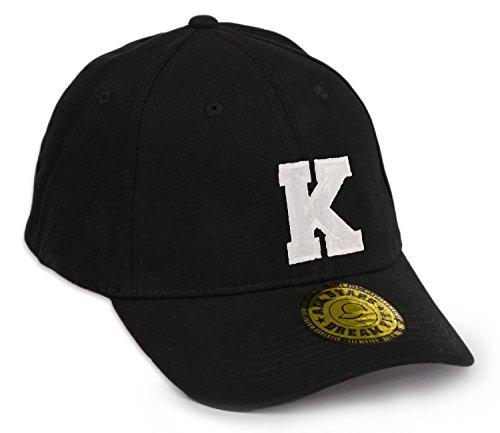 Preisvergleich Produktbild Unisex Snap Back Cap Flex fit Kappe Baseball Damen Herren HUT Mütze Caps Gothic 3D A-Z Snapback (L/XL, K)