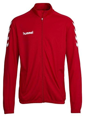 Hummel Herren Jacke Core Poly Jacket, True Red, L, 36-893-3062