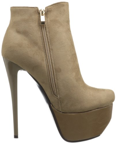 Luichiny, Stivali donna Marrone (Taupe Suede)