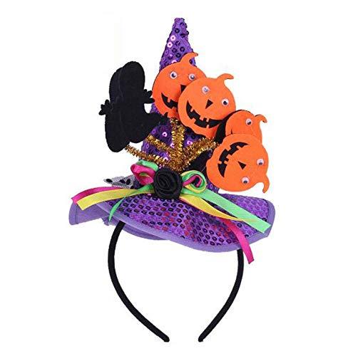 Halloween Headband Hair Hoop Cosplay À l'extérieur de Halloween Décorations, K5