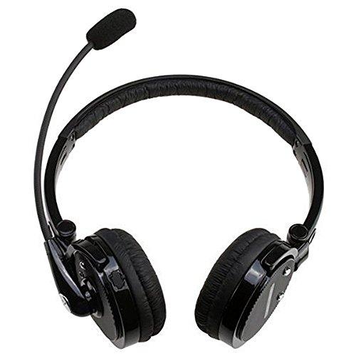 AsiaLONG Bluetooth Headset für Auto und LKW Wireless-Bluetooth-Kopfhörer, Über-Kopf-Headset mit flexiblem Bügel Mic und Technologie zur Rauschunterdrückung für das iPhone 6s / 6s plus / 5s / 4S, iPad Mini, iPad Luft, iPod, Macbook iMac, Nokia Lumia 920, Samsung Galaxy S5, Galaxy S4, Anmerkung 2, Anmerkung 3, HTC One M7 M8, Google Nexus, Sony Xperia Z2 Z1 L39H, Xperia Z ultra XL39h, Laptop PC Skype, MSN, MP3-Player (M20)