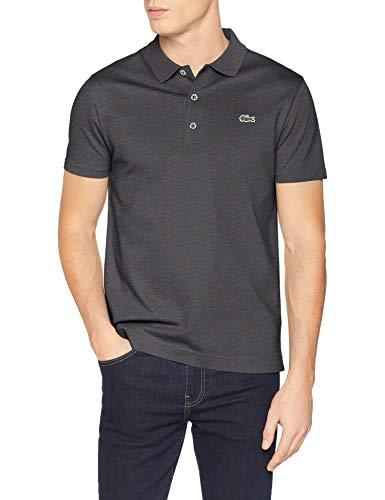 Lacoste Herren Yh4801 Poloshirt, Grau (Bitume 050), Medium (Herstellergröße: 4) - Polo-kleid-schuhe