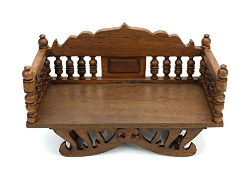 Ornamental Howdah from Thailand - Display stand for Buddhas / Ganesh /  Votive Figurines