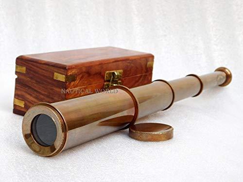 Messing-Teleskop...
