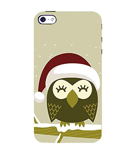 For Apple iPhone 4 :: Apple iPhone 4S Winter and the owl, owl Printed Cell Phone Cases, nature Mobile Phone Cases ( Cell Phone Accessories ), birds Designer Art Pouch Pouches Covers, animal Customized Cases & Covers, christmas Smart Phone Covers , Phone Back Case Covers By Cover Dunia  available at amazon for Rs.399