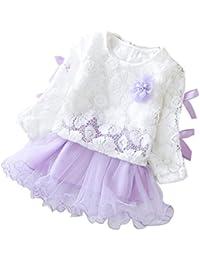 Xmansky Baby Kleidung Set Baby Baby Jungen Kleider Set Formale Party Taufe Hochzeit Krawatte Anzug Jungen (0 -24 Monate)