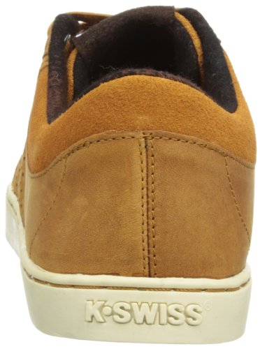 K-Swiss  Adcourt 72 P, Basses homme Marrone (Brown/Espresso/Antique White)