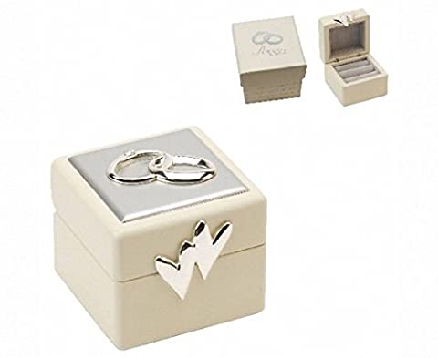 Amore Wedding Ring Box with Icons &