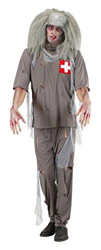 WIDMANN Zombie Doctor Kostüm klein für Halloween Living Dead ()