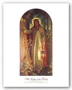 La Lumière du monde par William Holman Hunt Art Print Poster