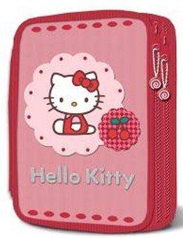 Für Erwachsene Hello Kitty (Hello Kitty Federmappe Schüleretui Federmäppchen leer EDEL)