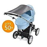Universal Sonnensegel für Kinderwagen Baby Sonnenschutz mit UV Schutz...