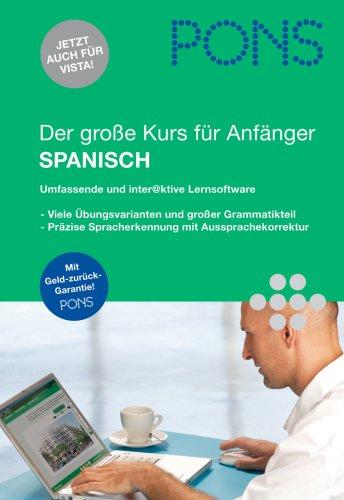 PONS Der große Sprachkurs für Anfänger Spanisch